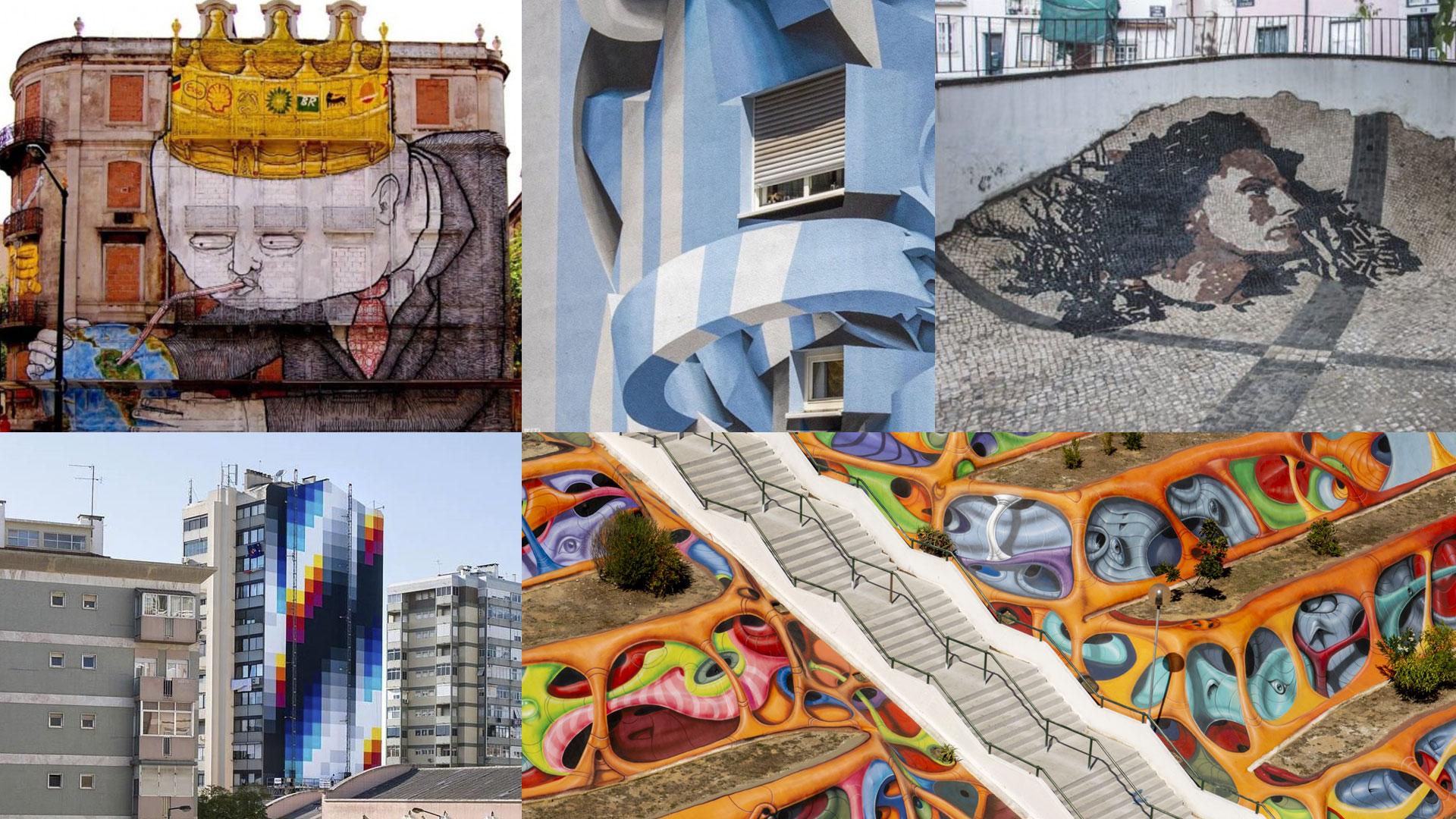 As 10 melhores peças de street art em Lisboa
