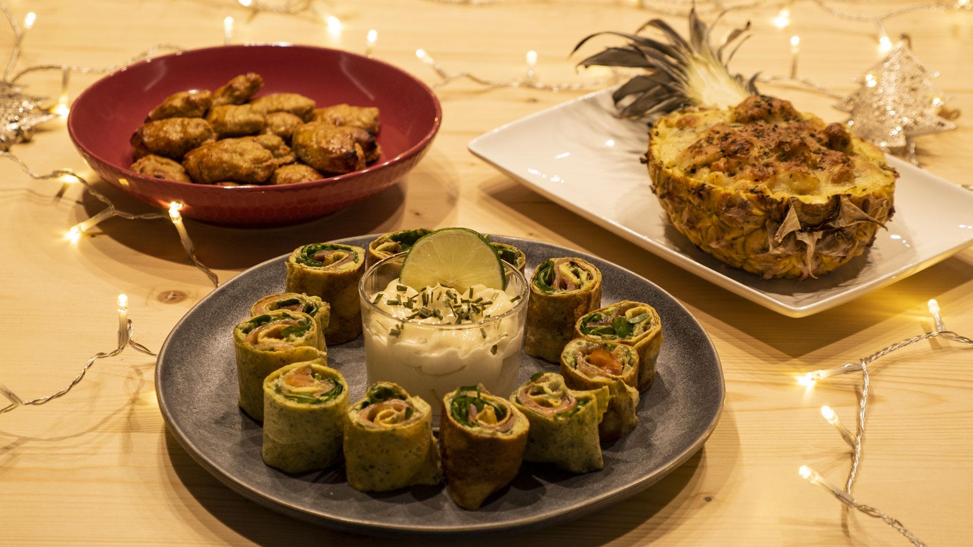 O menu mais original, bonito e saudável para a noite de Natal