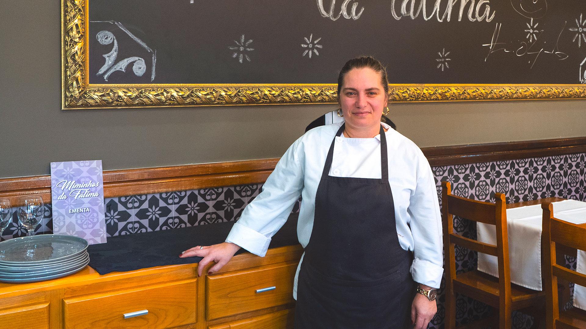 """""""Pesadelo na Cozinha"""" foi o maior sonho de Fátima"""