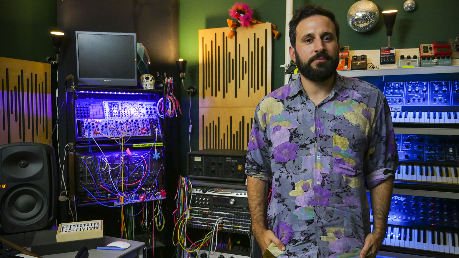Moullinex vai recriar o seu estúdio ao vivo no Musicbox