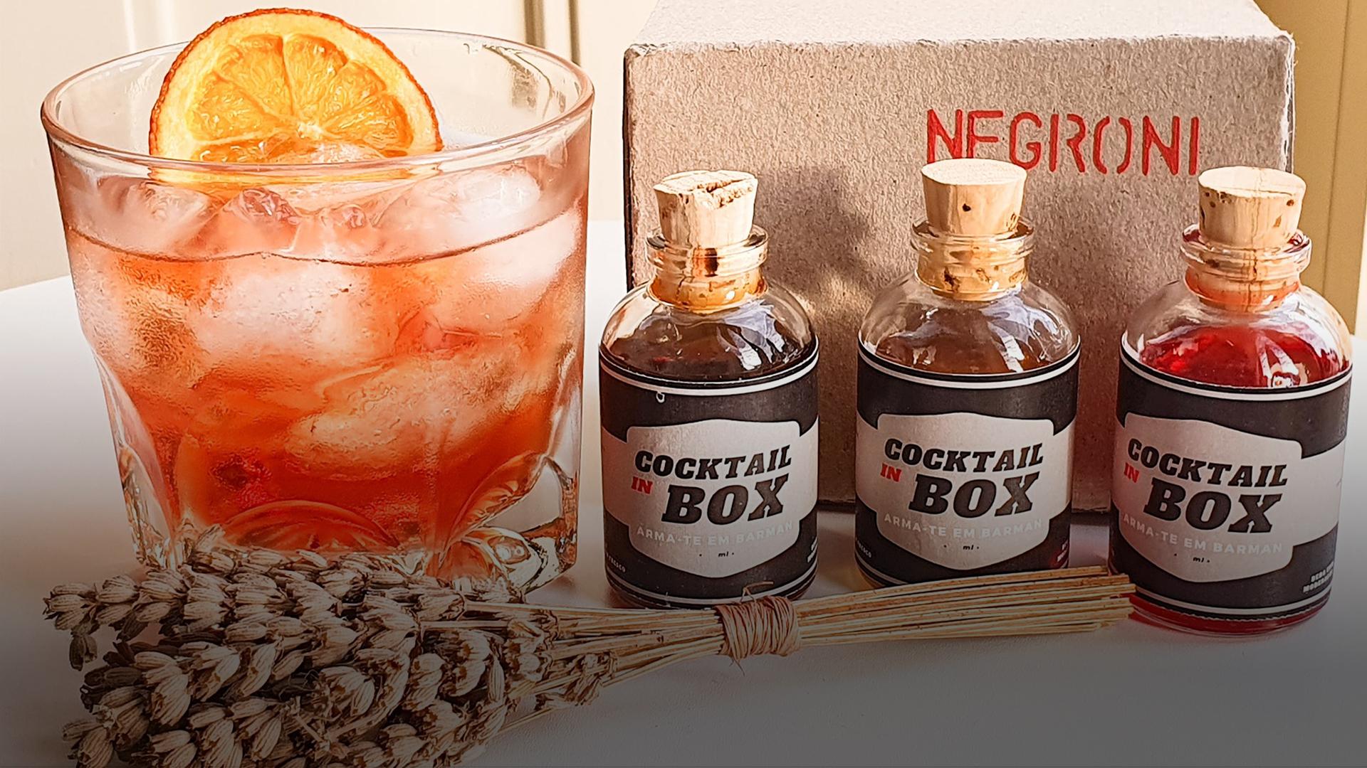 Cocktail inBox: as novas bebidas que lhe chegam a casa para salvar o confinamento