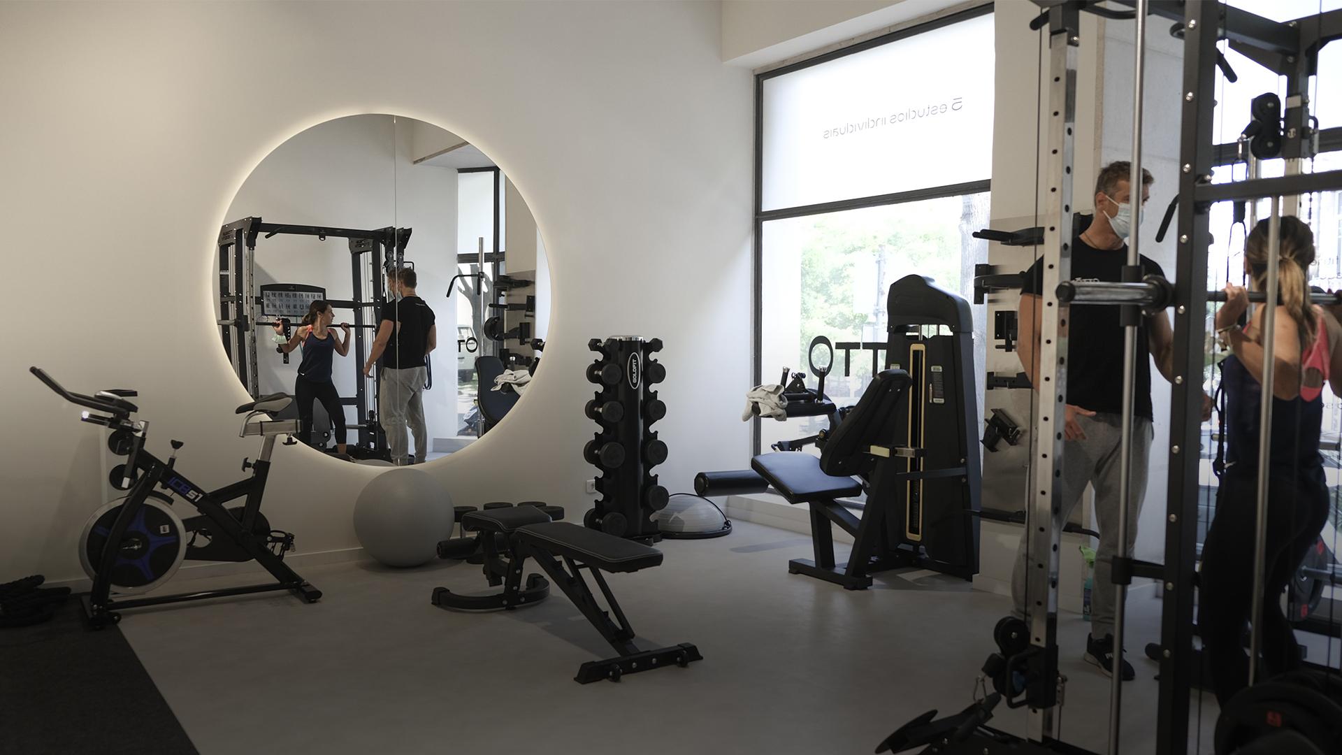 O novo spot de Lisboa tem estúdios privados para treinar sozinho, com amigos ou PT